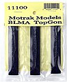 Resin Coal Loads BLMA TopGon Hopper (3-Pack) -- N Scale Model Train Freight Car Load -- #11100