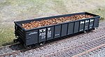 Scrap Metal Load for Accurail 41' Gondola -- HO Scale Model Train Freight Car -- #81104