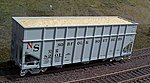 Woodchip Loads for Athearn 40' Woodchip Hopper (2) -- HO Scale Model Train Freight Car -- #81207
