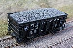 Resin Taconite Loads for Athearn/MDC Hi-Side Ore Car -- HO Scale Model Train Freight Car -- #81216