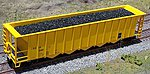 Coal Loads for Athearn/MDC 5-Bay Rapid Hopper (2-Pack) -- HO Scale Model Train Freight Car -- #81226