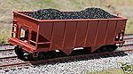 Coal Loads for Bowser/Stewart Fishbelly Hopper -- HO Scale Model Train Freight Car Load -- #81404