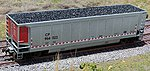Resin Coal Loads for LBF/IRC Bethgon Hopper (2) -- HO Scale Model Train Freight Car Load -- #81800