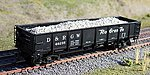 Gravel Loads for Red Caboose GS DB Gondola (2) -- HO Scale Model Train Freight Car Load -- #81907