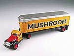 41/46 Chevy Tractor Trailer Mushroom -- HO Scale Model Railroad Vehicle -- #31166