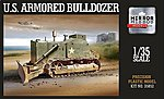 US Army Military Armored Bulldozer -- Plastic Model Military Vehicle -- 1/35 Scale -- #35852