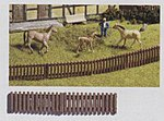Garden Fence -- HO Scale Model Railroad Building Accessory -- #13080