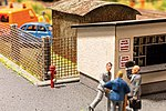 Hydrants (3) -- HO Scale Model Railroad Building Accessory -- #13750