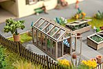 Greenhouse Kit -- HO Scale Model Railroad Accessory -- #14357