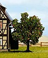 Apple Tree w/Fruit (3'') -- Model Railroad Tree -- #21560