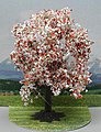 Blooming Fruit Tree 3'' -- HO Scale Model Railroad Tree -- #21570