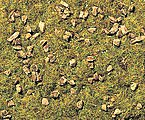 Stony Mountain Meadow Scatter Material -- Model Railroad Grass Earth -- #8360