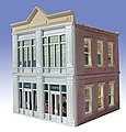 Clare's Furniture 2-Story Building Kit -- O Scale Model Railroad Building -- #826