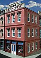 Bill's Place 3-Story Building Kit -- O Scale Model Railroad Building -- #872
