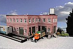 Barrettsburg Tool & Die 2-Story Building Kit -- O Scale Model Railroad Building -- #941