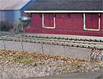 Chain Link Fence (wooden kit) -- N Scale Model Railroad Building Accessory -- #3071