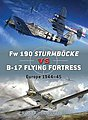 Fw190 Sturmbocke vs B17 Flying Fortress Europe 1944-45 -- Military History Book -- #d24