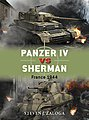 Panzer IV vs Sherman France 1944 -- Military History Book -- #d70
