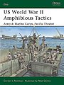US WWII Amphibious Tactics Army & Marine Corps, Pacific Theatre -- Military History Book -- #e117