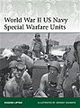 WWII US Navy Special Warfare -- Military History Book -- #eli203