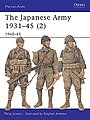 The Japanese Army 1931-45 -- Military History Book -- #maa369