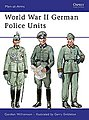 WWII German Police Units -- Military History Book -- #maa434
