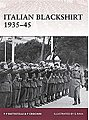 Italian Blackshirt 1935-45 -- Military History Book -- #war144