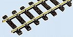 (bulk of 12) Code 100 Wooden Tie Flex Track 36'' Section -- Model Train Track -- On30 Scale -- #5001
