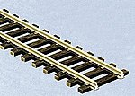 (bulk of 30) Code 55 Wooden Tie Flex Track 36'' Section -- Model Train Track -- N Scale -- #5801