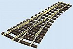48'' Radius Turnout w/Insul Frog Code 250 Left Hand -- Model Train Track -- G Scale -- #996