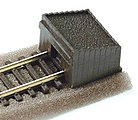 Code 80 Setrack Buffer Stop -- Model Train Track Accessory -- N Scale -- #st8