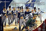 Napoleonic Prussian Line Infantry 1813-15 (46) -- Plastic Model Military Figure -- 28mm -- #205