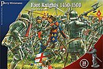 War of the Roses Foot Knights 1450-1500 (38) -- Plastic Model Military Figure -- 28mm -- #304