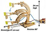 Hydraulic Robotic Arm Wooden Kit