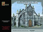 28mm Gothic City Building Small Set #2 -- Plastic Model Building Kit -- 28mm Scale -- #4925