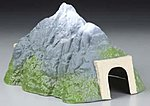Small Straight Tunnel -- Model Railroad Tunnel -- N Scale -- #6401