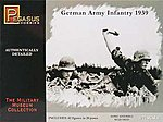 German Army Infantry 1939 (42) -- Plastic Model Military Figure -- 1/72 Scale -- #7499
