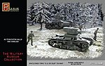 Soviet T-26 Tanks -- Plastic Model Military Vehicle Kit -- 1/72 Scale -- #7671