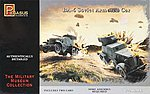 BA-6 Armored Cars (2) -- Plastic Model Military Vehicle Kit -- 1/72 Scale -- #7672