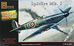 E-Z Snapz Spitfire MK.1 -- Snap Tite Plastic Model Aircraft Kit -- 1/48 Scale -- #8410