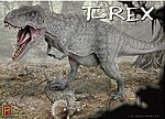 T-Rex -- Plastic Model Dinosaur Kit -- 1/32 Scale -- #9551