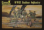 WWII Italian Infantry (30) -- Plastic Model Military Figure -- 1/72 Scale -- #c072