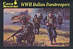 WWII Italian Paratroopers (32) -- Plastic Model Military Figure -- 1/72 Scale -- #c075