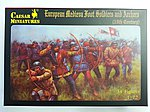 15th Century European Soldiers & Archers (34 -- Plastic Model Military Figure -- 1/72 Scale -- #c088