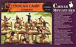 Caesar Undead Camp Zombies -- Plastic Model Fantasy Figure -- 1/72 Scale -- #f110