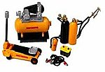 Garage Tools and Accessories Set -- Plastic Model Diorama -- 1/24 Scale -- #16059