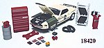 Garage Repair Accessory Set -- Diecast Model Car Parts -- Vehicle Accessory -- 1/24 scale -- #18420