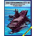 USS Enterprise CV6 -- Authentic Scale Model Boat Book -- #247