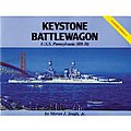 Keystone Battlewagon USS Pennsylvania -- Authentic Scale Model Boat Book -- #271
