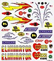 Pinewood Derby Hot Rod Decal -- Pinewood Derby Decal and Finishing -- #p314